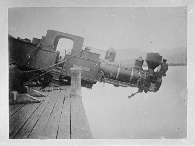 Lyttelton Locomotive Accident 1907